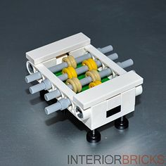 LEGO: Foosball Table (Custom/White) Interior Bricks http://www.amazon.com/dp/B00VV27DA6/ref=cm_sw_r_pi_dp_5BPjvb159WE6Y