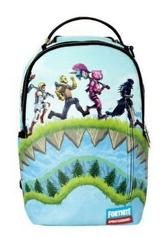 Brand New Limited Edition Sprayground Fortnite Characters Backpack Shark Royale Burton Rucksack, Rucksack Backpack, Laptop Backpack, Men's Backpacks, School Backpacks, Globe Skate Shoes, Backpack Brands, Carry On Luggage, Sport