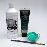 """DIY Chalkboard Paint using acrylic paint and gesso"""" data-componentType=""""MODAL_PIN"""