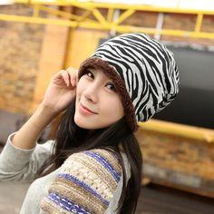 $4.97 (Buy here: https://alitems.com/g/1e8d114494ebda23ff8b16525dc3e8/?i=5&ulp=https%3A%2F%2Fwww.aliexpress.com%2Fitem%2F5-Colors-2015-New-Fashion-Women-Fleck-Velvet-Warmer-Thick-Zebra-Stripe-Beanies-Knitted-gorros-Skullies%2F32494603339.html ) 5 Colors Hot New Fashion Women Fleck Velvet Warmer Thick Zebra Stripe Beanies Knitted gorros Skullies For adult bonnet Hat for just $4.97