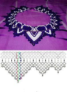 Beaded Collar Handmade