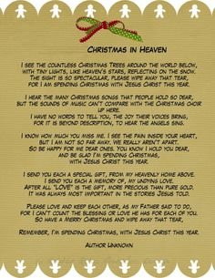 In memory of my Mother at Christmas <3