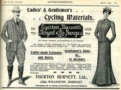 Emancipation: Cycling for ladies. Great collection of images and articles from the late 19th century on cycling and the fashion associated with it for women.