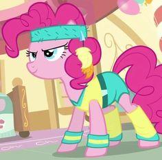 Pinkie Pie workout ID Mlp, Nerd Humor, Pinkie Pie, Disney Love, My Little Pony, Princess Peach, Geek Stuff, Workout, Fictional Characters