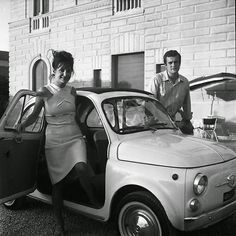 Environmental Portraits, Historical Pictures, Fiat 500, Projects, Ideas, Italia, Log Projects, Blue Prints, Thoughts