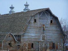 Beautiful Old Barn in Southern Idaho