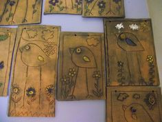 Bamboo Cutting Board, Creative Art, Resin, Clay, Crafts, Pictures, Clays, Manualidades, Handmade Crafts