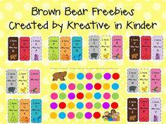 Brown Bear FREEBIES