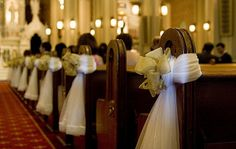 Church Wedding Ceremony Decor | Church Wedding Decoration 13