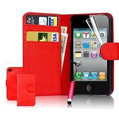 EUR € 3.67 - vormor® supporto di carta del raccoglitore dell'unità di elaborazione custodia in pelle per iPhone 5 / 5s (colori assortiti), Gadget a Spedizione Gratuita da MiniInTheBox!