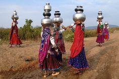 Banjara Women. Compare skirts to banjara skirts done for traveler market.
