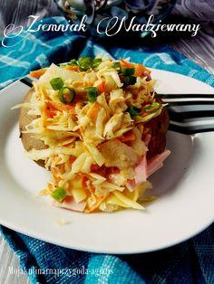 Moja kulinarna przygoda: Ziemniak nadziewany - foto instrukcja
