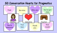 Speech Therapy Ideas: 19 Valentine's Day Speech Therapy Activities. Pinned by SOS Inc. Resources. Follow all our boards at pinterest.com/sostherapy/ for therapy resources.