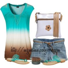 Summer Outfit by glenda