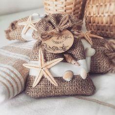 Deniz Temalı Lavanta Kesesi Düğün Hediyesi - Ocean Themed Wedding Gift
