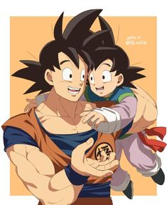 Dbz, Gohan And Goten, Goku And Vegeta, Son Goku, Dragon Ball Z, Gogeta And Vegito, Goku And Chichi, Ssj3, Adventure Time Anime