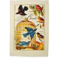 Sur La Table - Michel Designs - Birdcage towel
