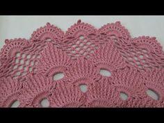 Crochet Rug Patterns, Crochet Designs, Crochet Doilies, Crochet Lace, Irish Crochet Tutorial, Easy Crochet, Crochet Crocodile Stitch, Crochet Videos, Diy And Crafts