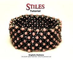 Tutorial Stiles Bracelet  Instant download PDF by FucsiaStyle, €5.50