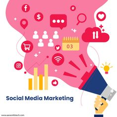 Gain traffic and leads, add value to your brand, build greater brand awareness with our social media marketing services.  #AaravInfotech #AI #socialmediamarketing #socialmediamarketingexpert #socialmediamarketingspecialist #socialmediamarketingfirm #socialmediamarketingconsulting #socialmediamarketingworld Digital Marketing Services, Social Media Marketing, Marketing Consultant, Gain