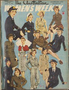 Jan 1945 - The Australian Women's Weekly magazine...women in uniform