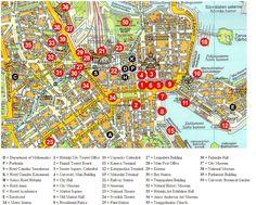 Maps of Scandinavia: Map of Helsinki