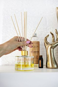 Make Your Own Essential Oil Diffuser! | A Beautiful Mess | Bloglovin'