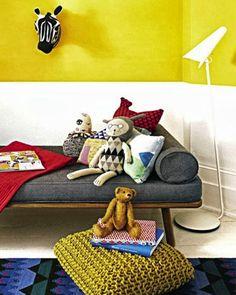 Shake My Blog | Du jaune dans une chambre d'enfant