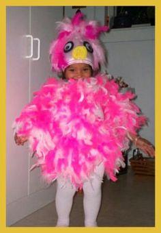 Cute easy flamingo costume Diy Halloween Costumes, Halloween Decorations, Flamingo Costume, Harajuku, Cute, Easy, Fashion, Moda, Fashion Styles