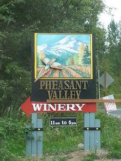 Pheasant Valley Winery - Hood River, Oregon