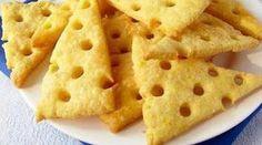 РЕЦЕПТЫ И СОВЕТЫ ХОЗЯЙКАМ: Домашние сырные крекеры