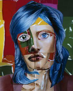 Daniel Gordon - Portrait_with_blue_hair
