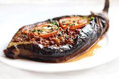 // Karnıyarık - stuffed eggplant