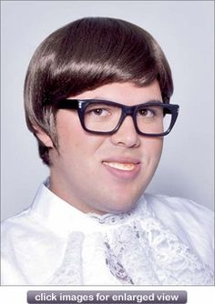 60's Mod - Costume Wig...might work for  Wolowitz...