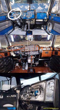 Dashboard #custom #inside #trucking  www.crcint.com