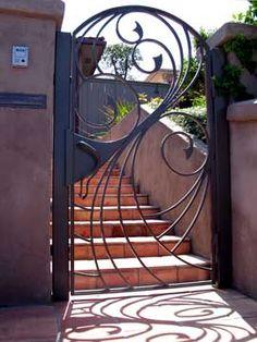 Swirling Water Gate