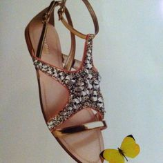 Gorgeous sandals- found in Bloomingdales catalog.