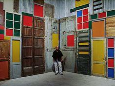1951 Luanda, Angola  Margem da Zona Limité: Township Wall, 1994-1995