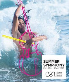 repurposing photos never meant for this purpose: Orquesta Sinfónica Nacional: Summer Symphony - Violoncello Clever Advertising, Advertising Poster, Advertising Campaign, Advertising Design, Poster Design, Ad Design, Exhibit Design, Booth Design, Design Concepts
