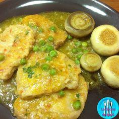 Lomo de cerdo en salsa, receta sencilla y rápida ideal para comer cualquier día de la semana acompañada con arroz o pasta.