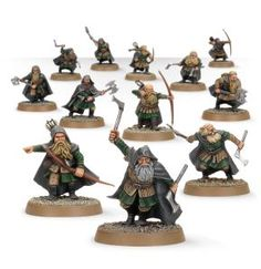 Games Workshop, Lord of the Rings Strategy Battle Game, Dwarven Rangers