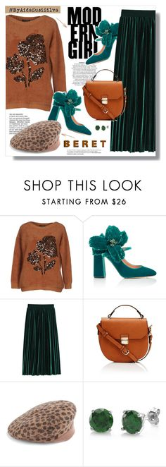 """B E R E T!"" by aidasusisilva ❤ liked on Polyvore featuring CristinaEffe, Rochas, David & Young and BERRICLE"