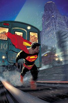 Superman 10 variant by Adam Hughes Mundo Superman, Superman Comic, Superman Stuff, Superman Anime, Superman Artwork, Superman Movies, Superman Family, New 52, Univers Dc