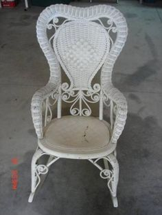 Wicker Rocking Chairs On Pinterest Rocking Chairs