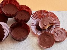 Get Homemade Peanut Butter Cups Recipe from Food Network