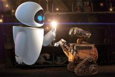 """WALL-E"", such a precious, delightful, and rather prophetic look at one possible future... leave it to Pixar to make a roach look adorable!"