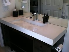 Custom Made Concrete Ramp Sink
