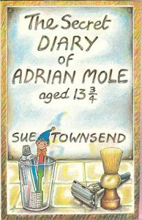 The Secret Diary Of Adrian Mole Aged 13 I loved this! I still have copies of this and The Growing Pains of Adrian Mole, and I have both tv series too. Julie Walters was way better as Pauline Mole than Lulu was though. 1980s Childhood, My Childhood Memories, Childhood Stories, Family Memories, Adrian Mole, Good Books, My Books, Reading Books, Reading Lists