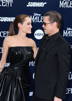 Pin for Later: Angelina Jolie und Brad Pitt machen aus Maleficent eine Familienangelegenheit