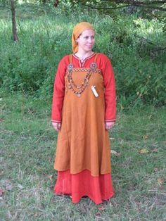 Viking clothing; birka style